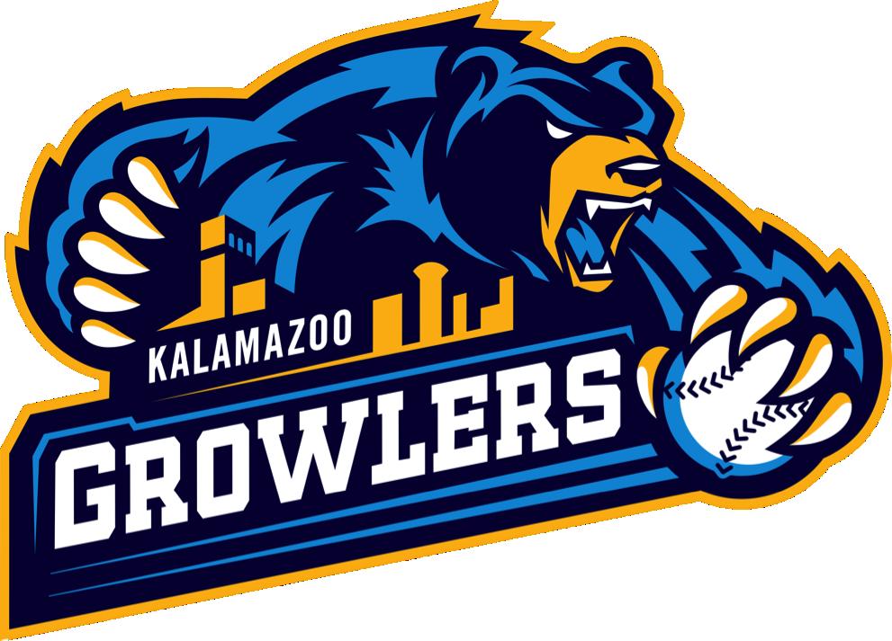 kalamazoo growlers logo