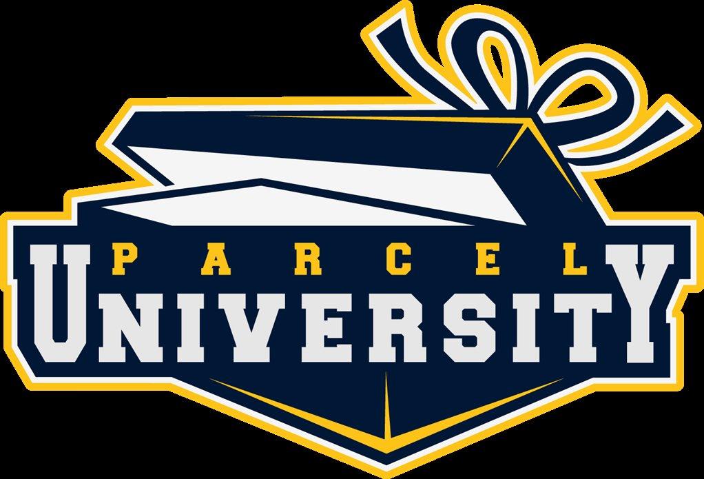 parcel university logo