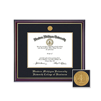 Diploma frame sample