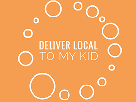 Deliver Local To My Kid logo