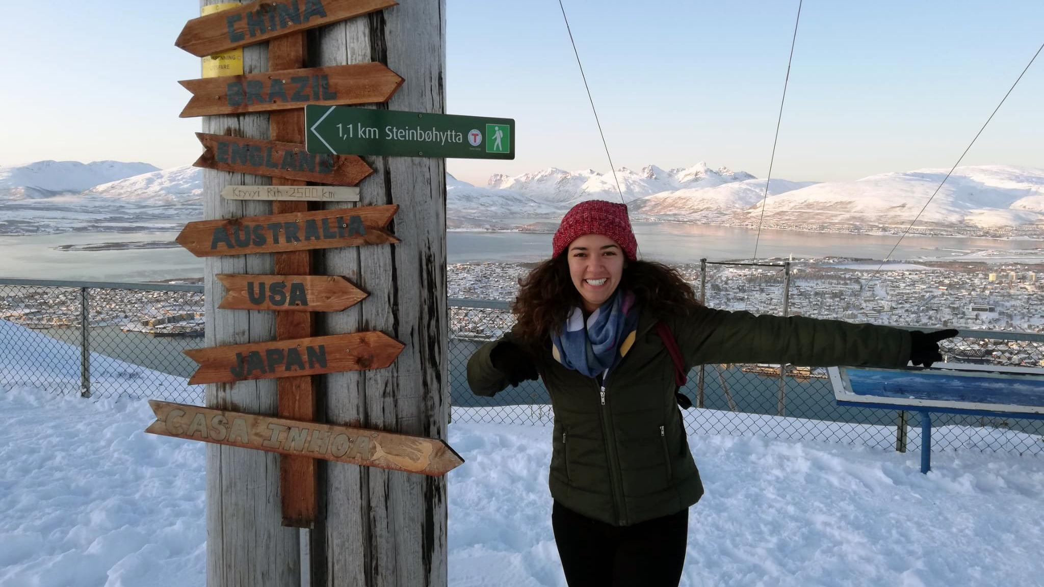 Catherine Lemus in Norway