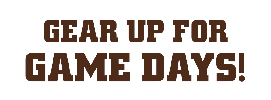 Gear up for game days!